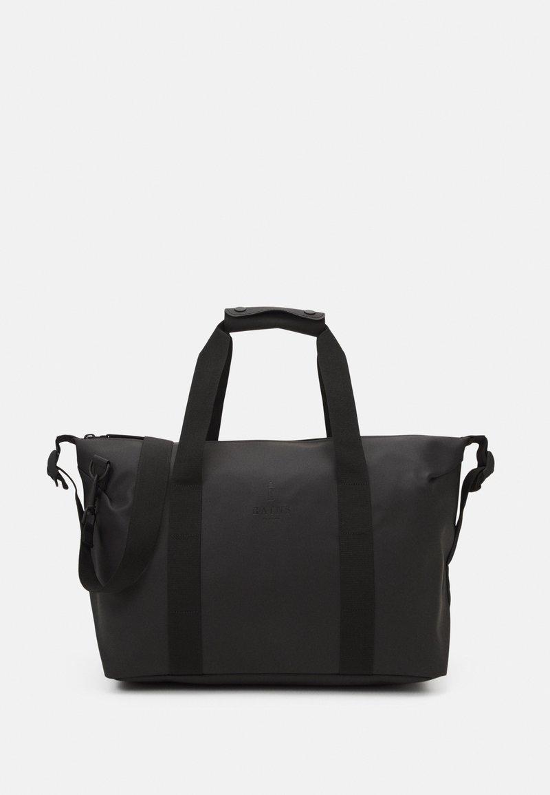 Rains - WEEKEND BAG SMALL UNISEX - Weekend bag - black