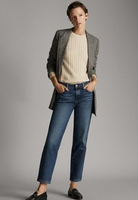 Massimo Dutti - Straight leg jeans - dark blue - 5