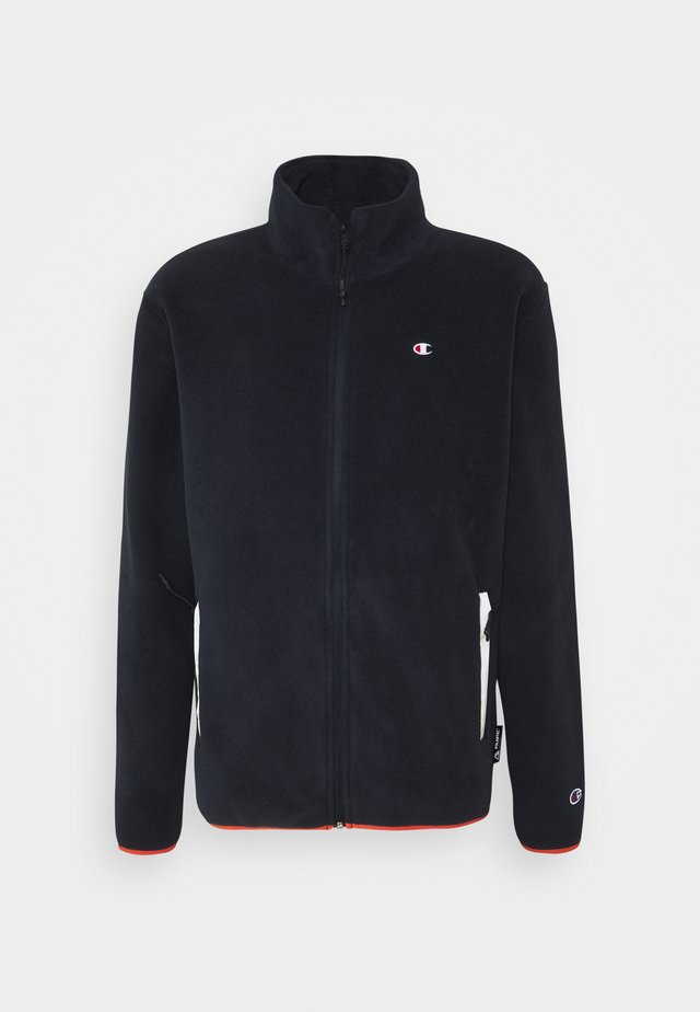 FULL ZIP - Giacca in pile - dark blue