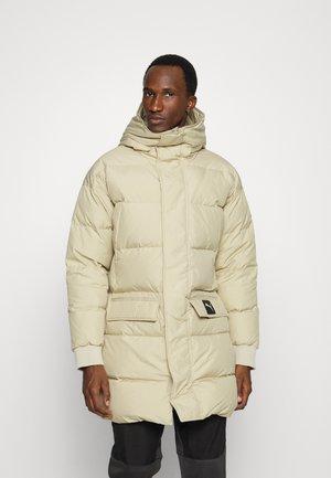 PROTECTIVE JACKET - Down coat - beige
