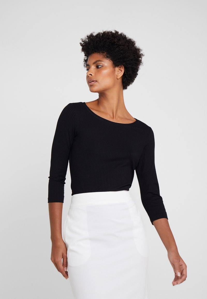 HUGO - DICARE - Long sleeved top - black