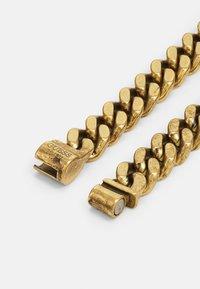 Guess - CURB UNISEX - Necklace - antique gold-coloured - 1