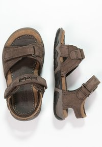 Timberland - OAK BLUFFS - Sandals - dark brown - 1