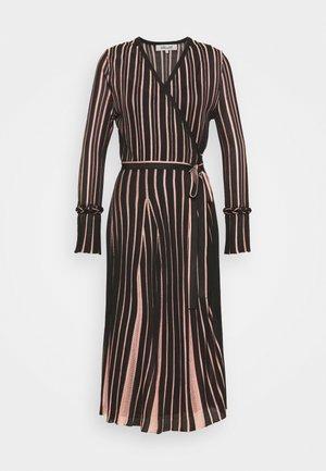 EDELINE - Maxi dress - black/pale pink
