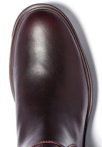 Timberland - NOLITA SKY ANKLE BOOT - Boots - burgundy full grain - 4