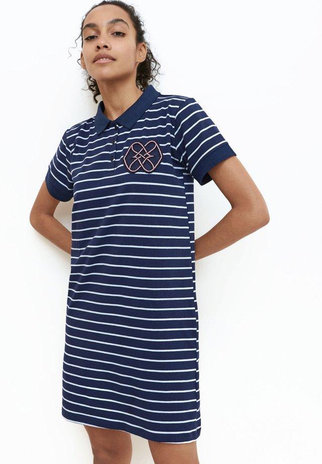 Vestito di maglina - navy blue
