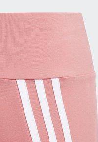 adidas Performance - STRIPES COTTON LEGGINGS - Leggings - pink - 4
