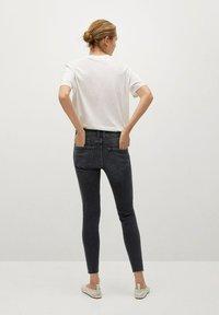 Mango - ISA - Jeans Skinny Fit - open grijs - 2