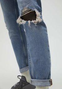 PULL&BEAR - Jeans slim fit - stone blue denim - 5