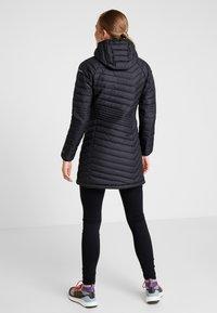 Columbia - POWDER LITE MID JACKET - Zimní kabát - black - 2
