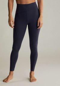 OYSHO - Leggings - dark blue - 0