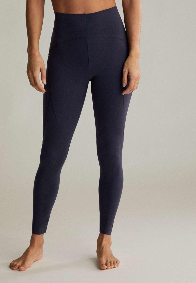 OYSHO - Leggings - dark blue