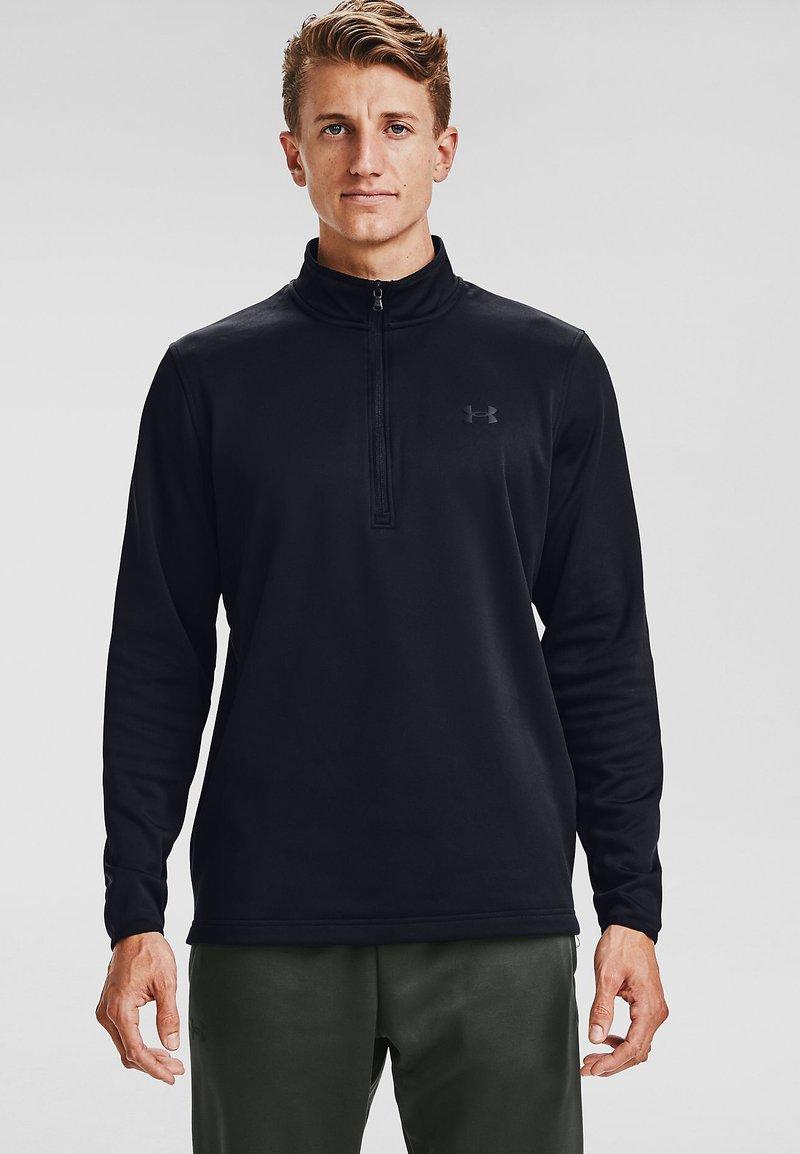Under Armour - Fleece jumper - black