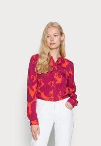 Emily van den Bergh - BLOUSE - Blouse - pink/red - 0