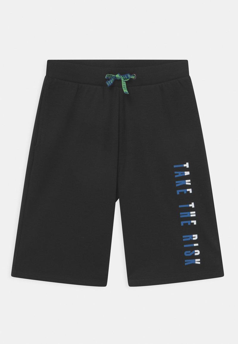 Re-Gen - TEEN BOYS BERMUDA - Shorts - black