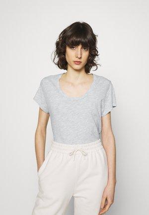 JACKSONVILLE ROUND NECK - T-shirt - bas - polaire chine
