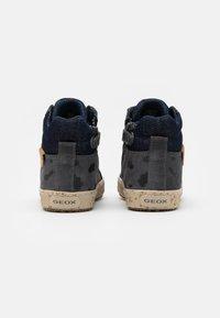 Geox - KALISPERA GIRL - Sneakersy wysokie - dark grey - 2