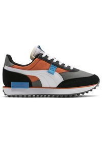 Puma - FUTURE RIDER PLAY ON YOUTH - Trainers - ultra gray-white- black - 5