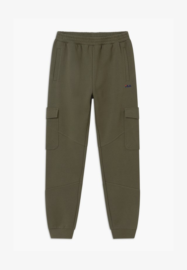ELIA  - Teplákové kalhoty - grape leaf