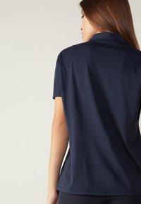 Intimissimi - AUS SUPIMA®ULTRAFRESH - Polo shirt - blu intenso - 1