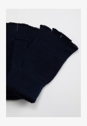 Fingerless gloves - navy