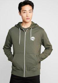 Timberland - ZIP HOODIE - Zip-up hoodie - grape leaf - 0