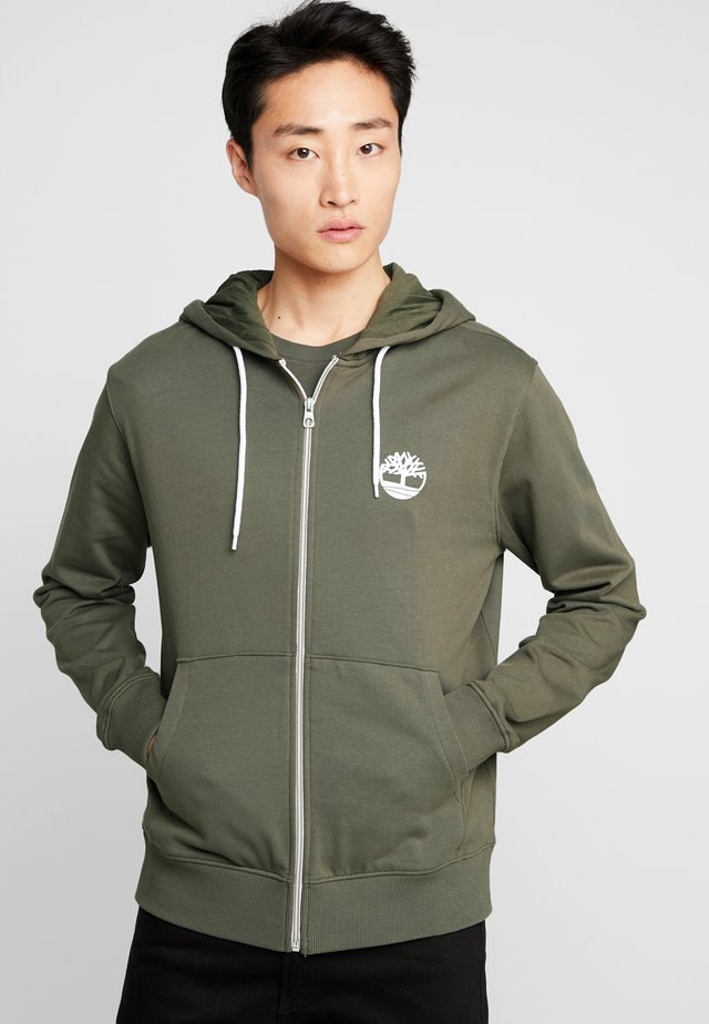 ZIP HOODIE - Zip-up hoodie - grape leaf