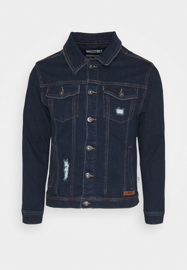 BRYNE - Giacca di jeans - rinse wash