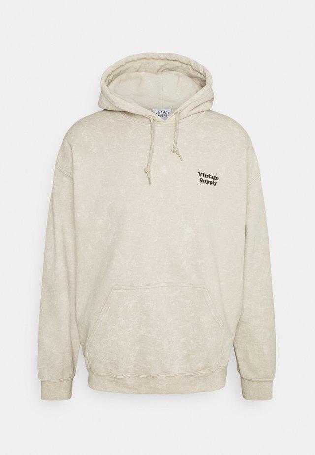 CORE OVERDYE HOODIE - Sweater - beige