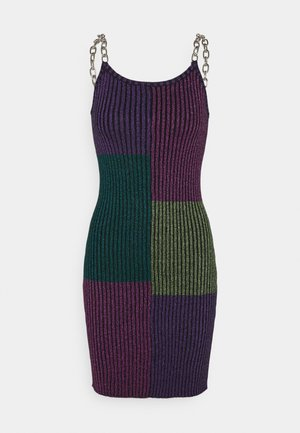 ZING DRESS - Pletené šaty - multi-coloured