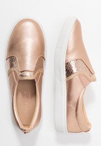 Head over Heels by Dune - EVEY - Slip-ons - rose gold - 3