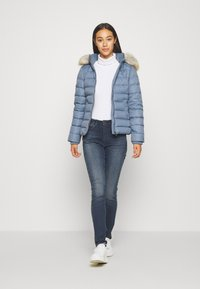 Tommy Jeans - BASIC - Untuvatakki - faded ink - 1