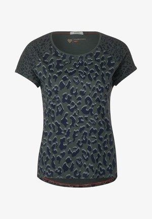 MIT LEO-MUSTERMIX - Print T-shirt - grün