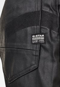 G-Star - C-STAQ  BOYFRIEND CROP WMN - Jeans relaxed fit - waxed black cobler - 4