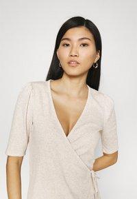 GAP - WRAP - T-shirts - oatmeal heather - 3