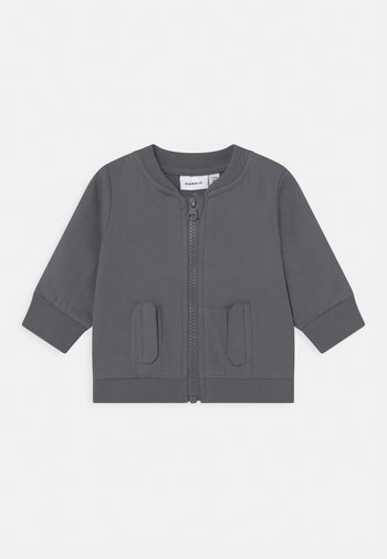 NBMOLAV  - Zip-up sweatshirt - turbulence