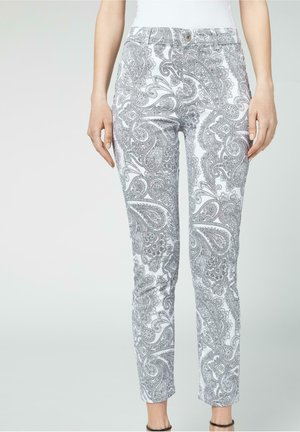 Slim fit jeans - paisley patterned