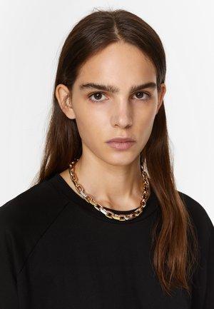 Necklace - multigold