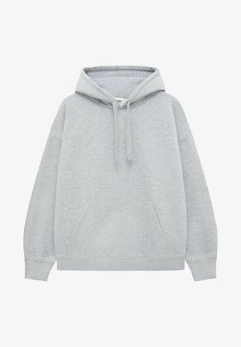 OVERSIZE - Hoodie - light grey