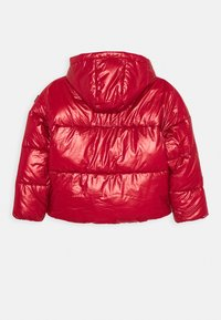 Tommy Hilfiger - METALLIC PUFFER JACKET - Winter jacket - red - 1