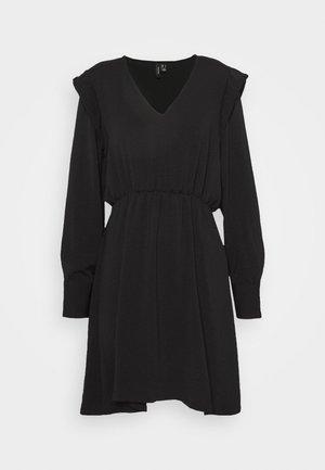 VMWIGGA SHOULDER TUNIC - Day dress - black