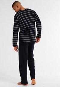 Schiesser - SET - Pyjamas - dunkelblau - 2