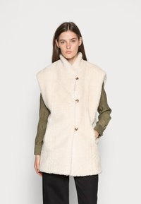 Another-Label - UNNI VEST - Waistcoat - crystal grey - 0