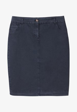MOTI - Pencil skirt - navy blue