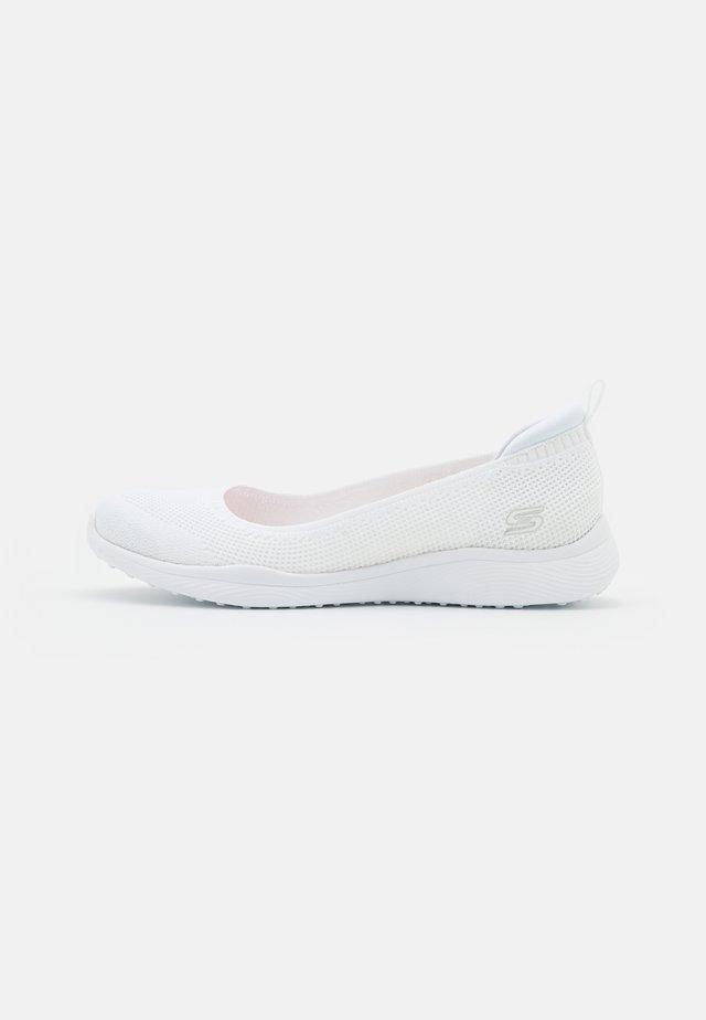 MICROBURST 2.0 - Ballet pumps - white
