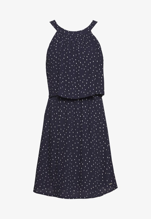 Robe d'été - dark blue minimal