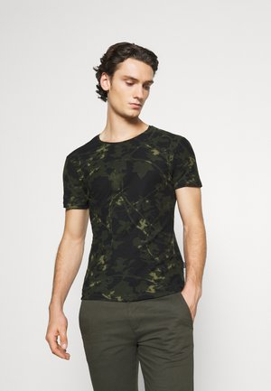 TEE - Print T-shirt - deep depths