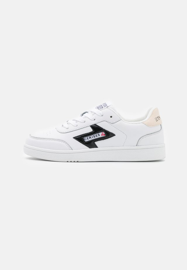 FLASH - Sneakers laag - white/black