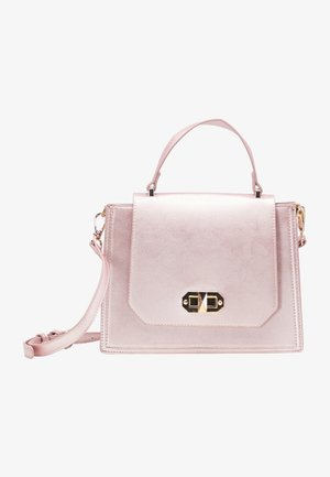 Handbag - rosa metallic