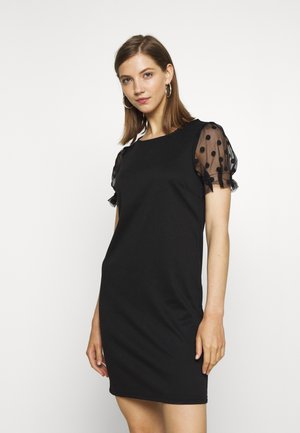 VITINNY SLEEVE DRESS - Jersey dress - black